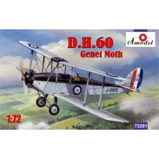 AMO-72281 1/72 de Havilland DH.60 Genet Moth model kit