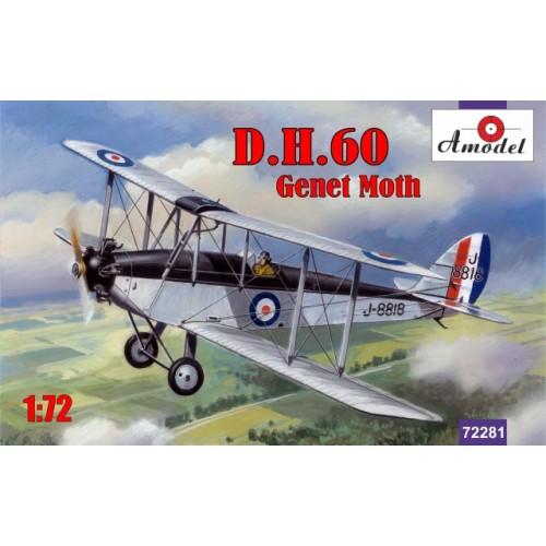 AMO-72281 1/72 de Havilland DH.60 Genet Moth model kit