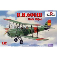 AMO-72283 1/72 de Havilland DH.60GIII Moth Major model kit