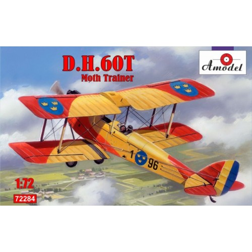 AMO-72284 1/72 de Havilland DH.60T Moth Trainer model kit