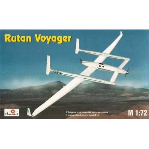 AMO-7229 1/72 Voyager USA record plane model kit