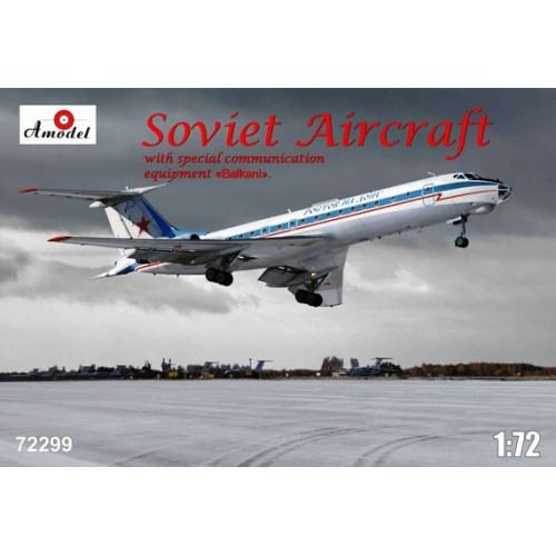 AMO-72299 1/72 Tu-134AK model kit