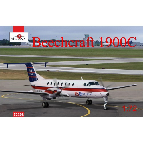 AMO-72308 1/72 Beech 1900C model kit