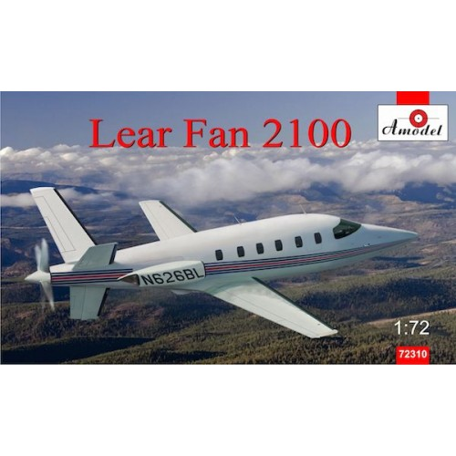 AMO-72310 1/72 Lear Fan 2100 model kit