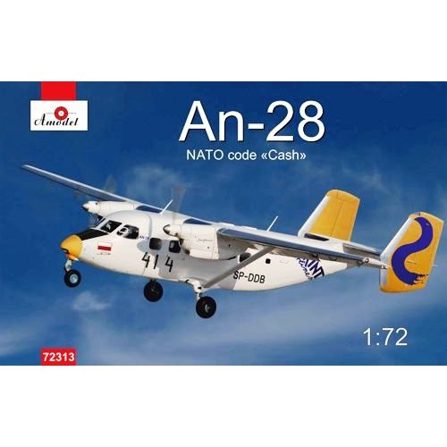 AMO-72313 1/72 An-28 Poland model kit