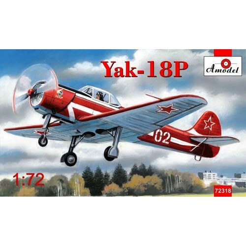 AMO-72318 1/72 Yak-18P model kit