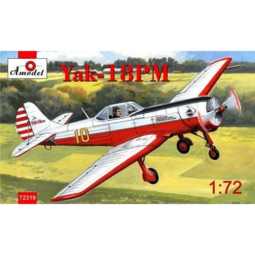 AMO-72319 1/72 Yak-18PM model kit