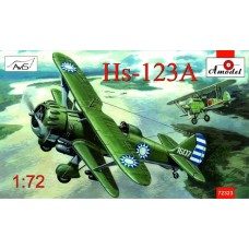 AMO-72323 1/72 Hs-123A China, Spain model kit