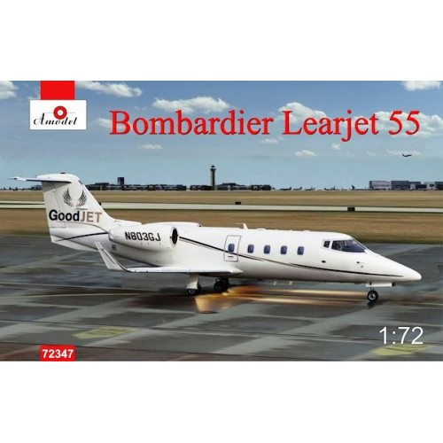 AMO-72347 1/72 Learjet 55 model kit