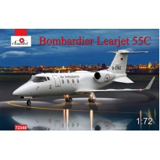 AMO-72348 1/72 Learjet 55C model kit