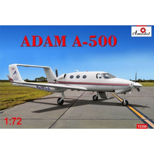 AMO-72350 1/72 Adam A500 six-passenger business class aircraft model kit