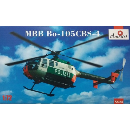 AMO-72355 1/72 MBB Bo-105CBS-4 Polizei model kit