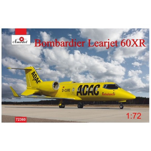 AMO-72360 1/72 Learjet-60XR ADAC model kit