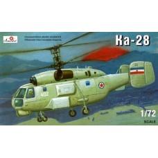 AMO-7237 1/72 Kamov Ka-28 Soviet helicopter model kit