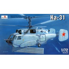 AMO-7245 1/72 Kamov Ka-31 Soviet helicopter model kit