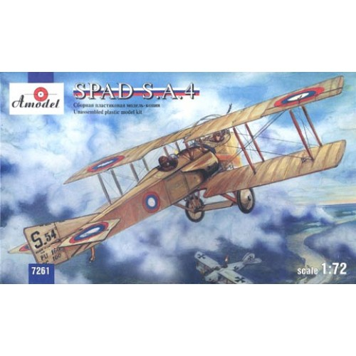 AMO-7261 1/72 SPAD S.A 4 model kit