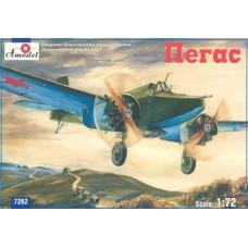 AMO-7262 1/72 Tomashevich Pegas (Pegasus) Soviet WW2 strike aircraft model kit