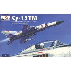 AMO-7263 1/72 Sukhoi Su-15TM interceptor fighter model kit