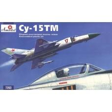 AMO-7263 1/72 Sukhoi Su-15TM interceptor fighter model kit
