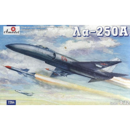 AMO-7264 1/72 Lavochkin La-250 Anakonda Soviet experimental interceptor model kit