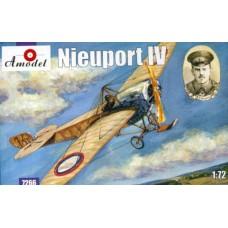 AMO-7266 1/72 Nieuport IV WW1 Fighter model kit