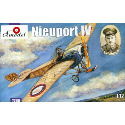 AMO-7266 1/72 Nieuport IV WW1 Fighter model kit