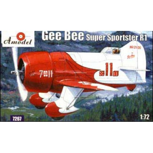 AMO-7267 1/72 Gee Bee Super Sportster R1 Aircraft model kit
