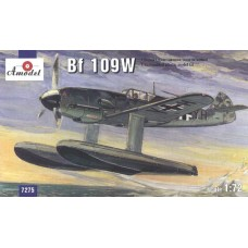 AMO-7275 1/72 Messerschmitt Bf-109W model kit