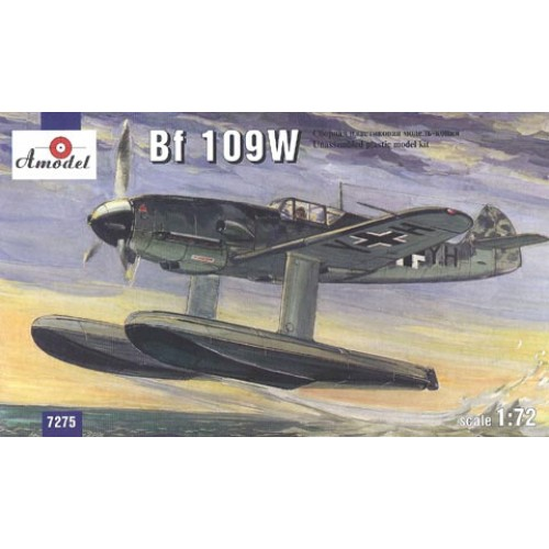 AMO-7275 1/72 Messerschmitt Bf-109W model kit