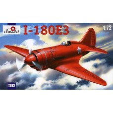 AMO-7283 1/72 Polikarpov I-180E3 Soviet WW2 Fighter model kit