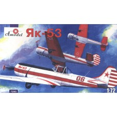 AMO-7285 1/72 Yakovlev Yak-53 Soviet Trainer model kit