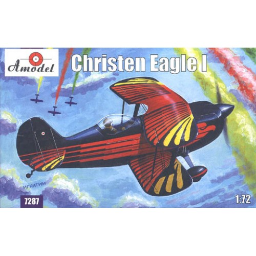 AMO-7287 1/72 Christen Eagle-I Aerobatic Aircraft model kit