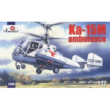 AMO-7290 1/72 Kamov Ka-15M Soviet Ambulance Helicopter model kit