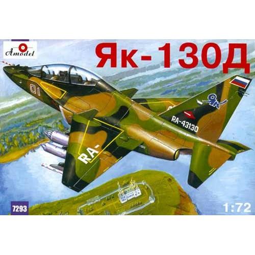 AMO-7293 1/72 Yakovlev Yak-130D Russian AF Modern Jet Training Aircraft model kit