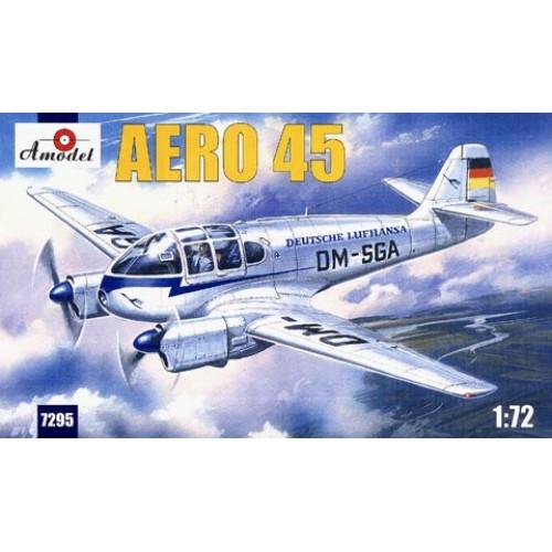 AMO-7295 1/72 AERO 45 Light Multifunctional Aircraft model kit