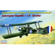 EST-72157 Eastern Express 1/72 Sopwith 1 1/2 Strutter British Fighter model kit