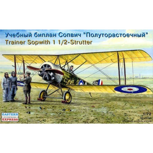 EST-72159 Eastern Express 1/72 Sopwith 1 1/2 Strutter British Trainer model kit