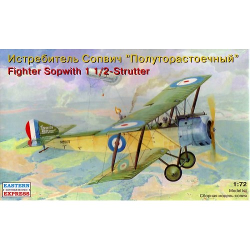 EST-72160 Eastern Express 1/72 Sopwith 1 1/2 Strutter two-seater model kit