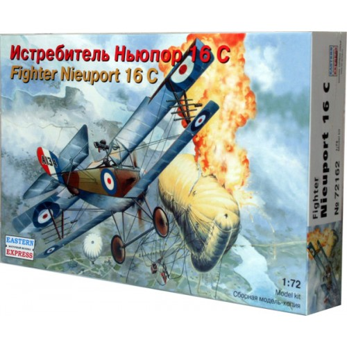 EST-72162 1/72 Nieuport 16c WW1 era fighter model kit