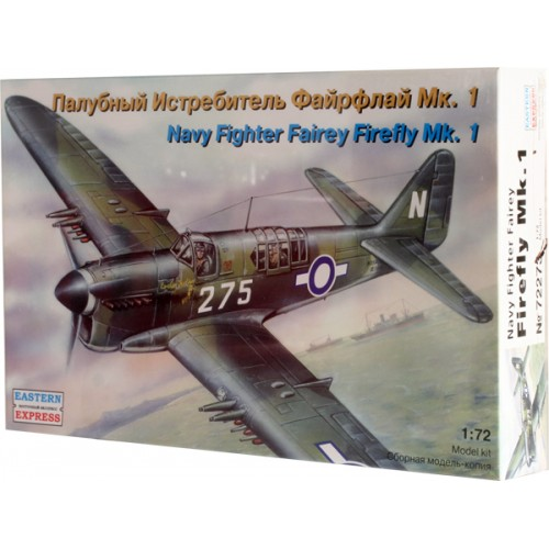 EST-72273 1/72 Fairey Firefly Mk.1 WW2 Navy fighter model kit