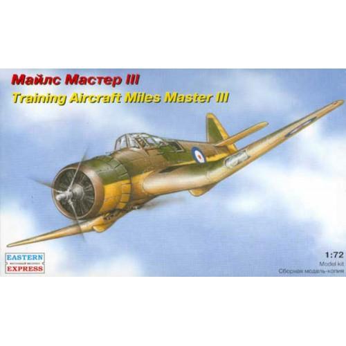 EST-72287 1/72 Miles Master Mk.III British WW2 training aircraft model kit