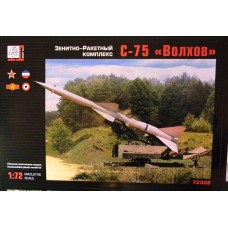 GRN-72302 Gran 1/72 S-75 Russian Surface-To-Air Missile System model kit