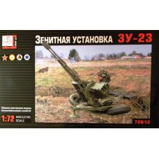 GRN-72612 Gran 1/72 ZU-23-2 Russian 23-mm Anti-Aircraft Autocannon model kit