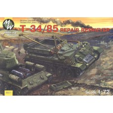MWH-7211 1/72 T-34/85 REPAIR RETRIEVER model kit