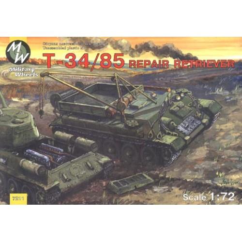 MWH-7211 1/72 T-34/85 REPAIR RETRIEVER model kit
