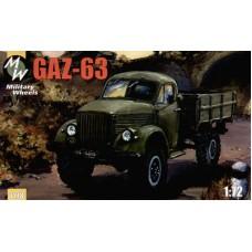 MWH-7218 1/72 GAZ 63 model kit