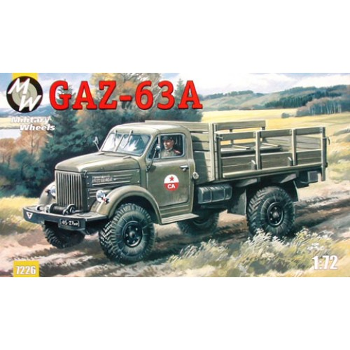 MWH-7226 1/72 GAZ 63 A model kit