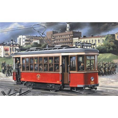 "MWH-7230 1/72 Tram car ""X"" model kit"