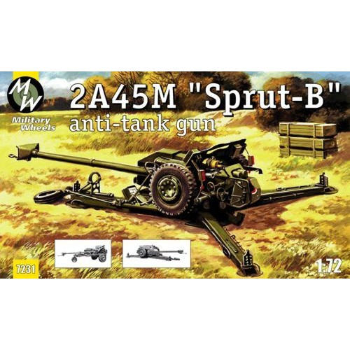 MWH-7231 1/72 Sprut model kit