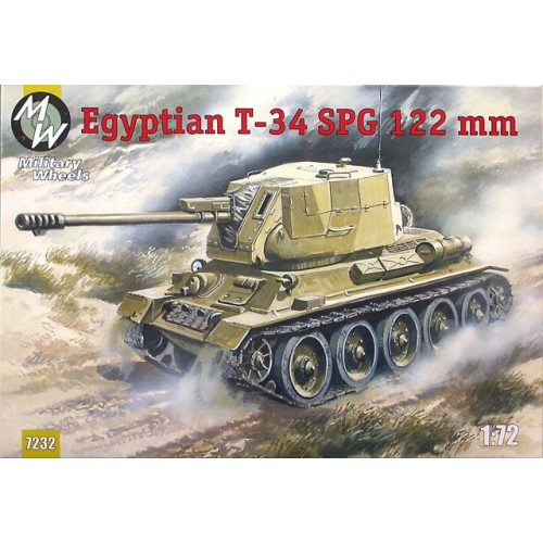 MWH-7232 1/72 T-35 SPG-122mm model kit